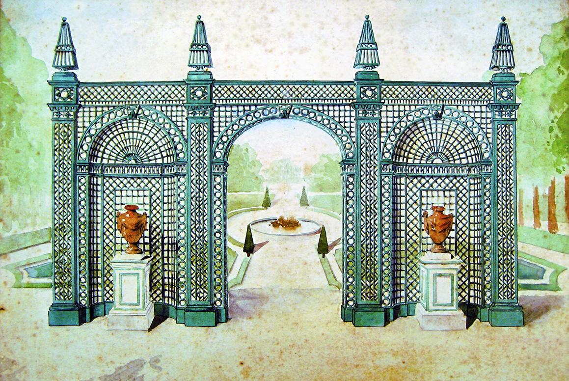 Treillage Portal - Classic Garden Elements